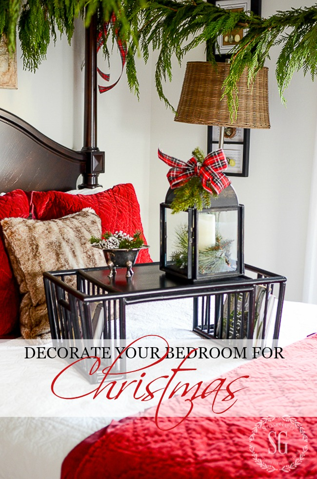 Decorate Your Bedrooms For Christmas Stonegable