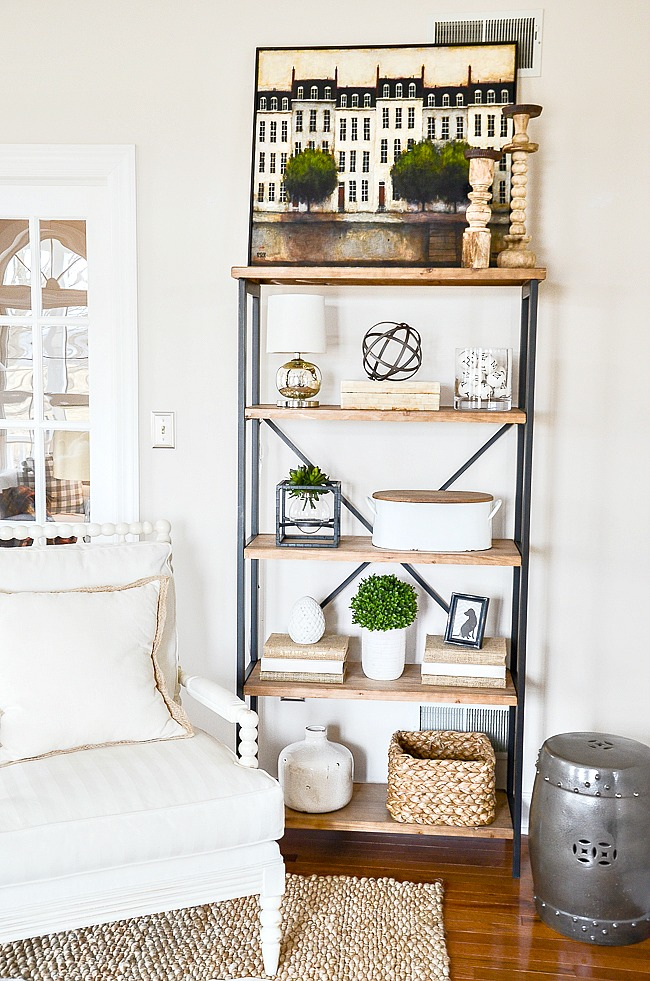HOW TO ARRANGE SHELVES- I'M SHARING MY SECRETS FOR STYLING BEAUTIFUL SHELVES