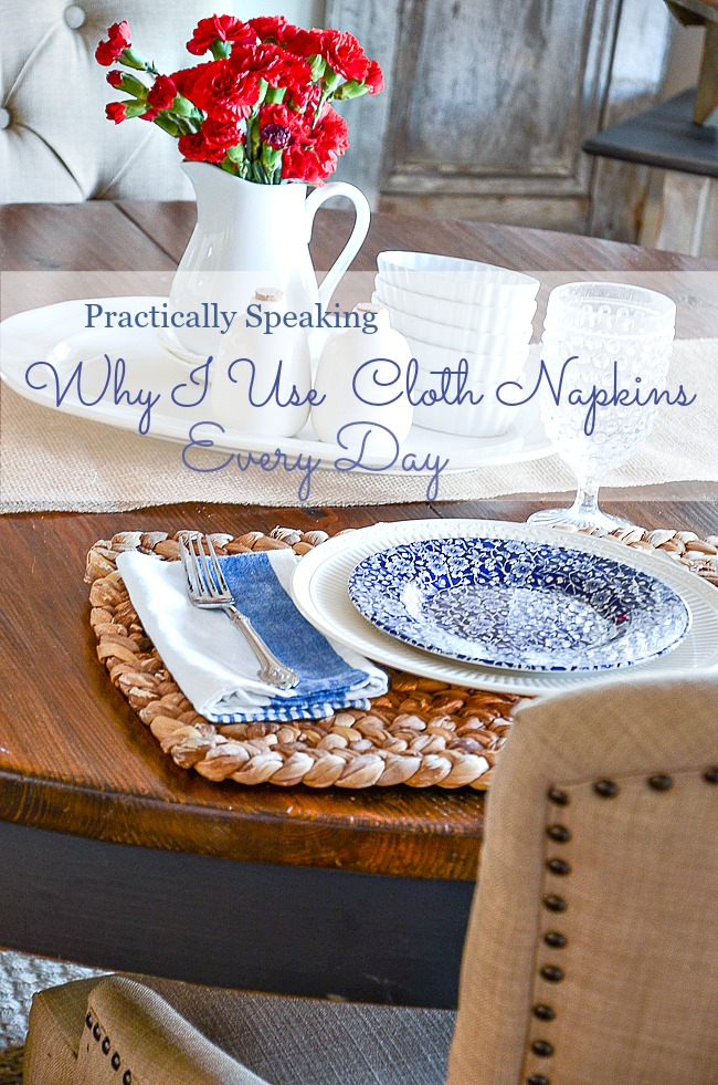 WHY I USE CLOTH NAPKINS EVERY DAY