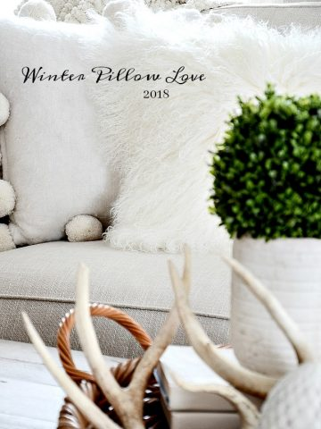 WINTER PILLOW LOVE 2018