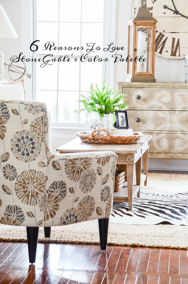 1 6 REASONS TO LOVE STONEGABLE'S COLOR PALETTE- The color palette at StoneGable is so classic and easy to live with. Here are some reasons to love it and maybe consider it for a room in your home!