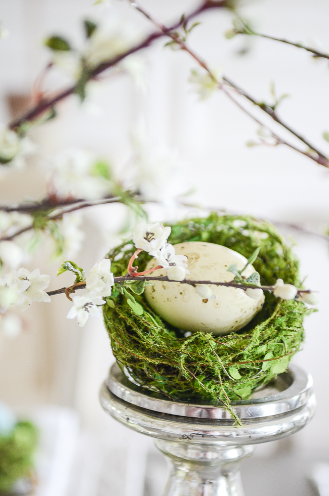 Easter In Bloom Tablescape Stonegable