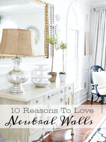 10 REASONS TO LOVE NEUTRAL WALLS