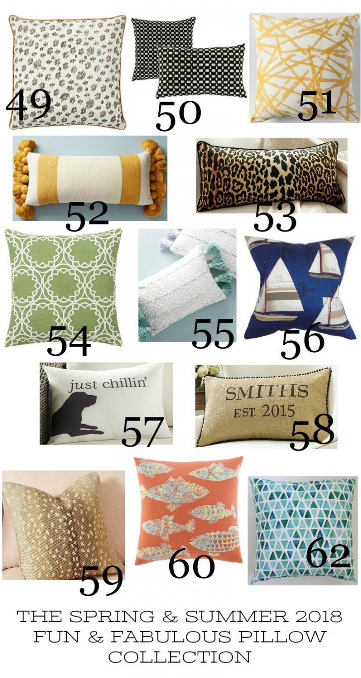 Spring And Summer Pillow Love Stonegable