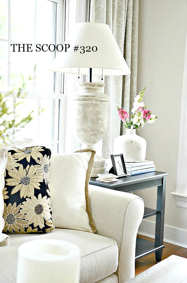 THE SCOOP #320-Get the best of your favorite blogs all in one place! #homedecorating #recipes #decorating ideas #spring decorating #springideas #springrecipes #recipes #gardening #farmhousedecor #decorstyle #easyrecipe #diy #homediy #slowcooker