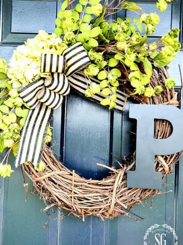 10 BEST SUMMER WREATH DIY'S- MAKE AN EASY AND PRETTY NEW SUMMER WREATH FOR YOUR FRONT DOOR!