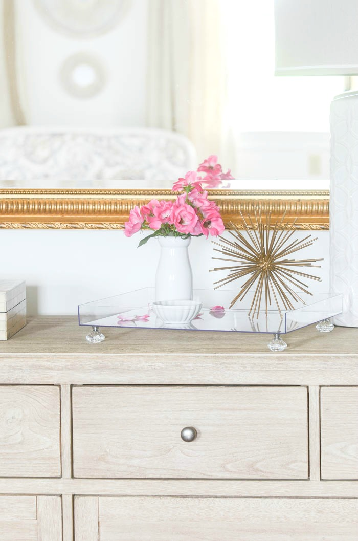 Beautiful Monogrammed Lucite Tray Diy Stonegable