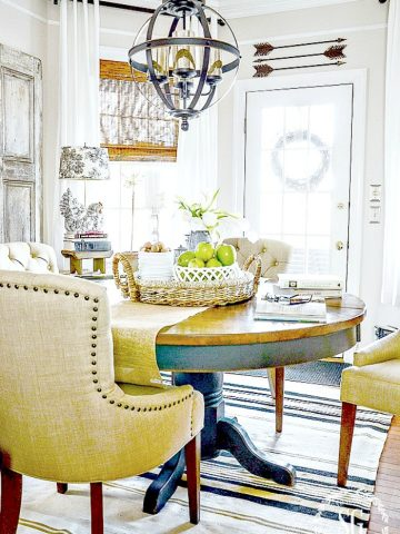 TIPS FOR ZERO OR ALMOST ZERO DOLLAR DECORATING