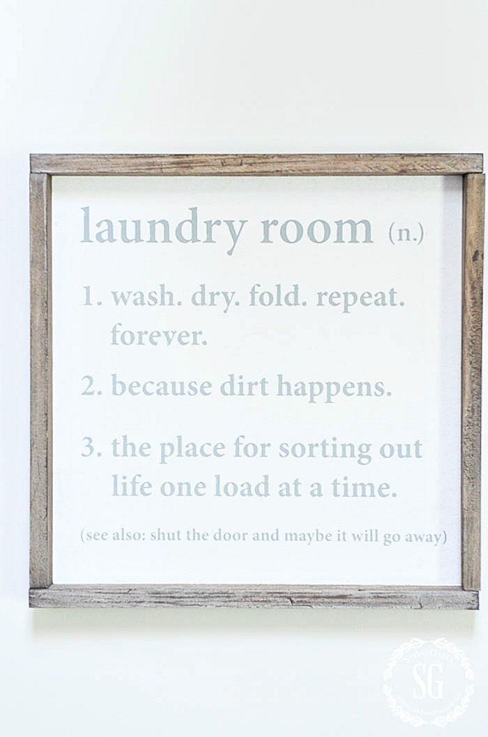Declutter Your Laundry Room Stonegable