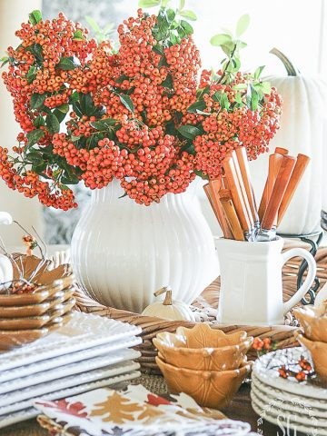 FALL BOUNTY TABLE