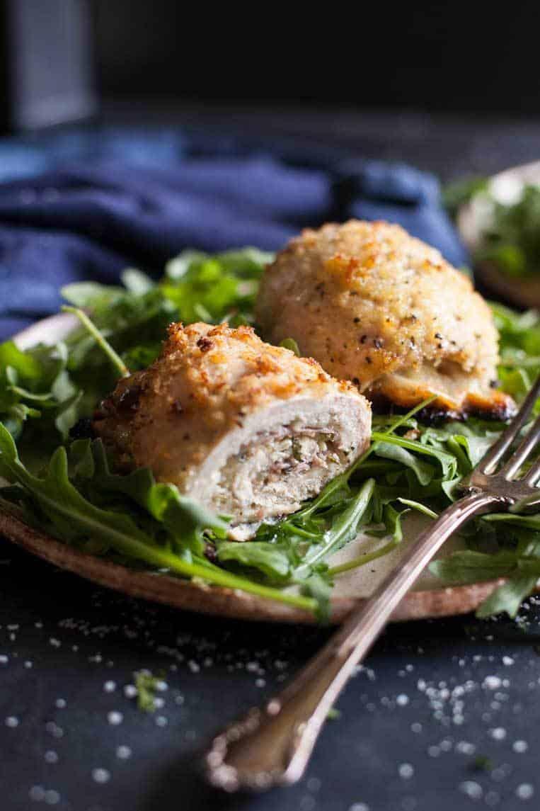 chicken rolls on the menu