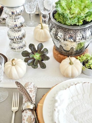 10 EASY IDEAS FOR SETTING A THANKSGIVING TABLE
