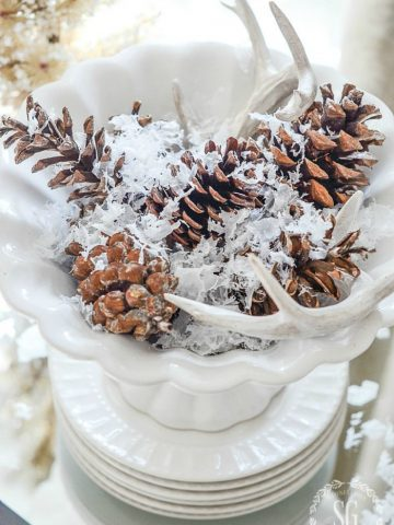TRANSITIONING DECOR FROM FALL TO CHRISTMAS