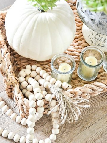 STYLING AN EASY FALL VIGNETTE