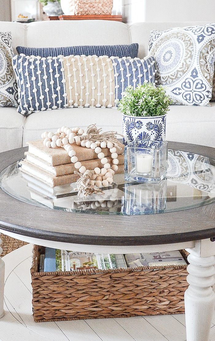 Style A Round Coffee The Easy Way, How To Decorate Small Round Coffee Table