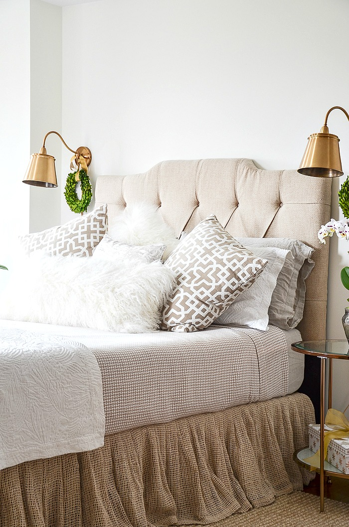 Christmas In The Master Bedroom And Sitting Room Stonegable,Pinterest French Country Bedrooms