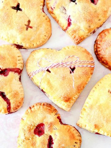 HEART IN HAND PIES
