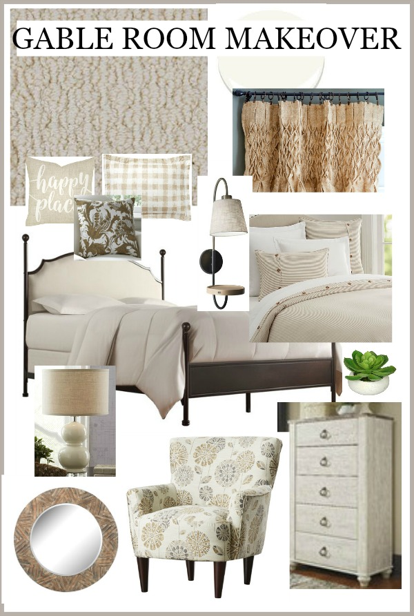 best decorating tip- INSPIRATION BOARD FOR GABLE ROOM