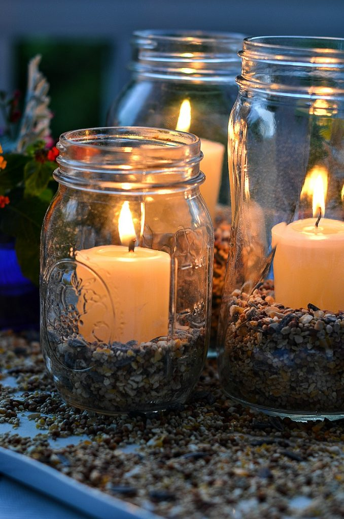 Easy Outdoor Candle Lanterns Diy Stonegable