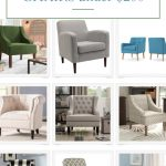 accent chairs under $200.00
