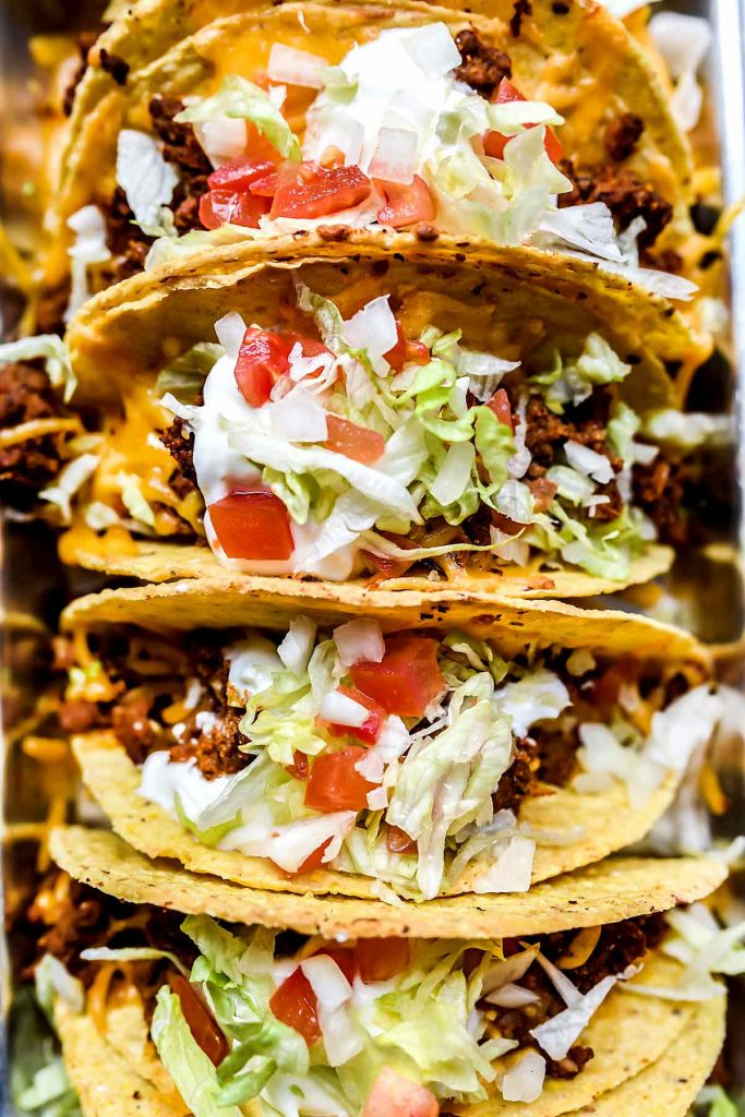 colorful tacos