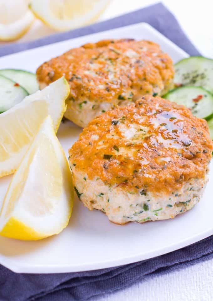 salmon cakes menu plan recipe
