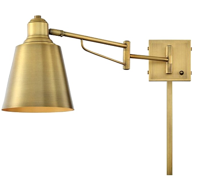 beautiful gold metal bedroom sconce on trend for 2020