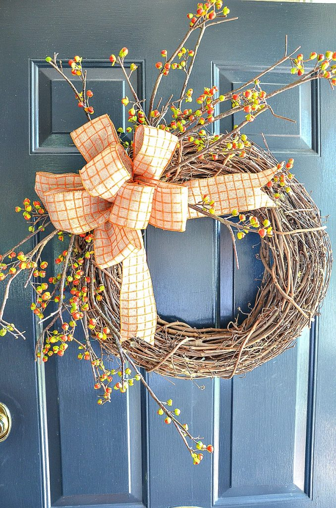 7 Fabulous Outdoor Fall Wreaths Diy