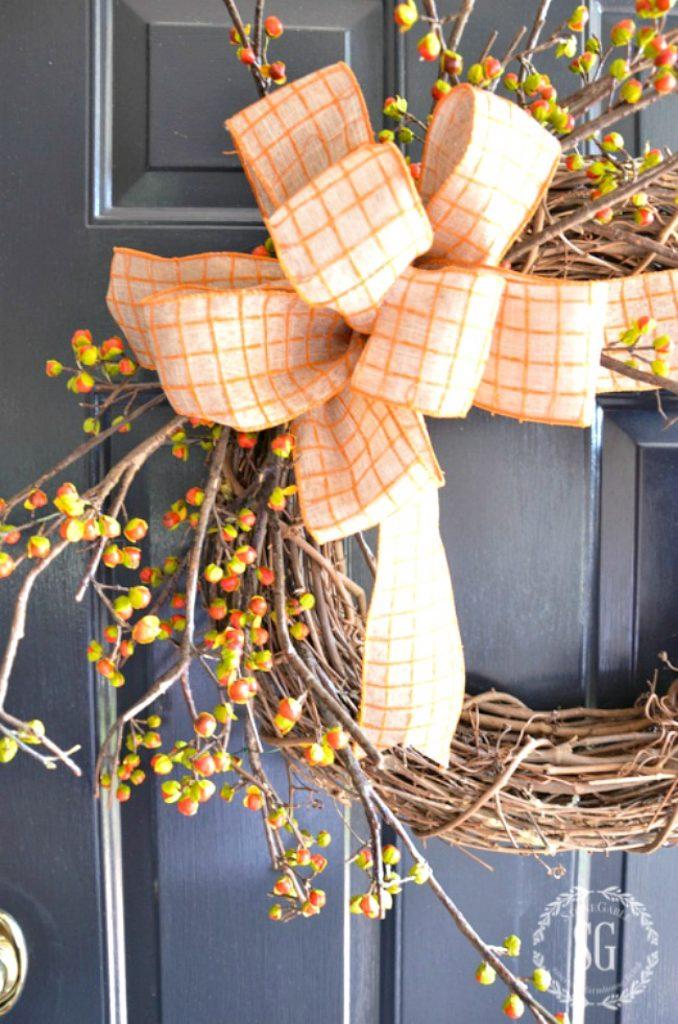 fall bittersweet wreaths