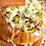 main dish stuffed pumpkin