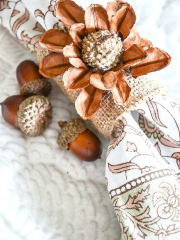 4 EASY THANKSGIVING NAPKIN RING DIY'S