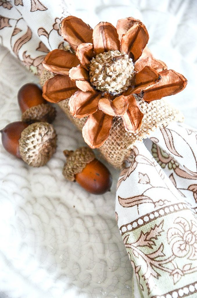 4 Easy Thanksgiving Napkin Ring Diy S Stonegable