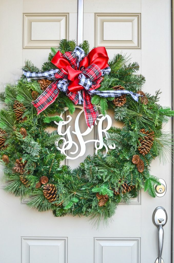 How To Decorate A Small Porch For Christmas Stonegable