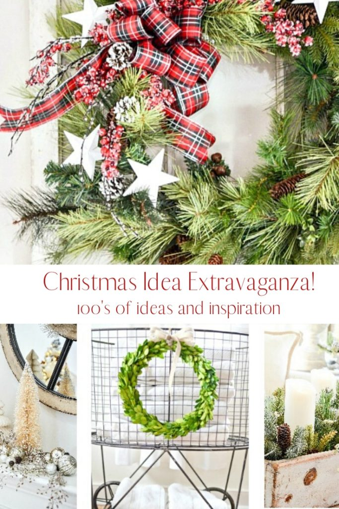 pretty ideas for Christmas decorating