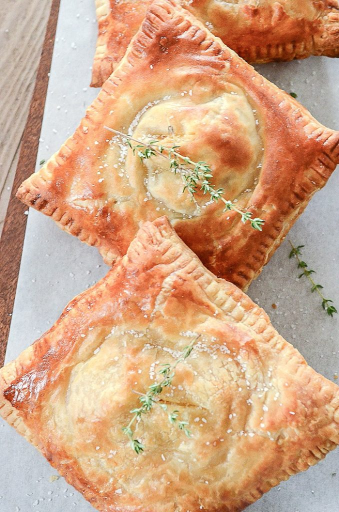 ham broccoli and cheese puff pastry hand pies on the menu this week