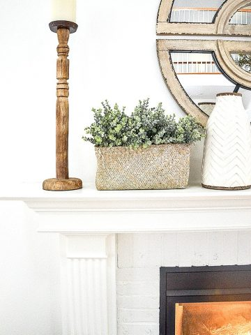 A FIREPLACE MAKEOVER FOR TANGLEWOOD