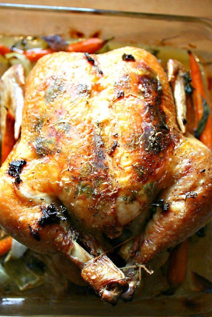 perfect roast chicken on the menu plan