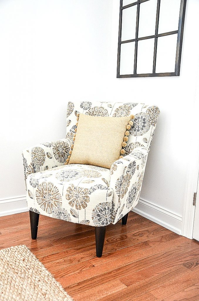 cute stylized floral chairs