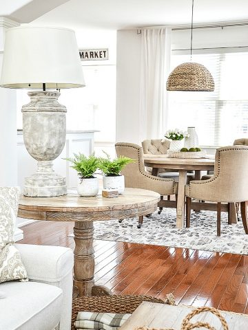 UPDATE A ROOM FROM FRUMPY TO FABULOUS