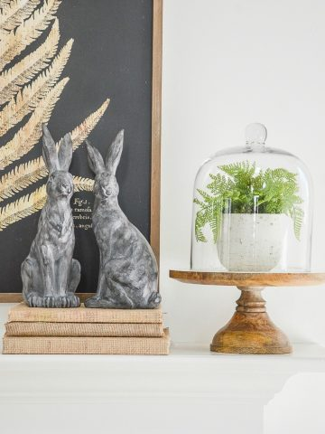 HOW TO STYLE A MANTEL SIX WAYS