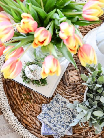 HOW TO MAKE AN EARLY SPRING VIGNETTE