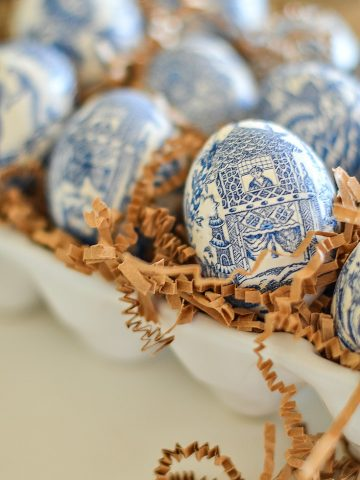 CHINOISERIE EGGS DIY