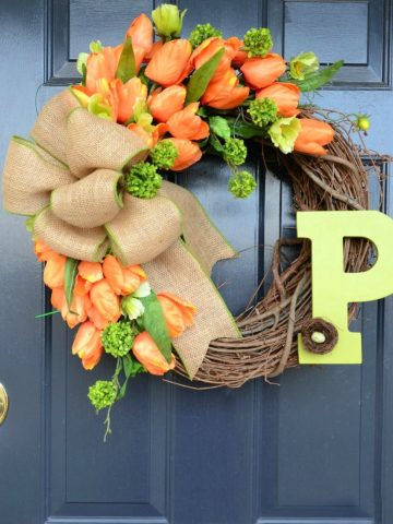 YOU CAN MAKE THIS WREATH!