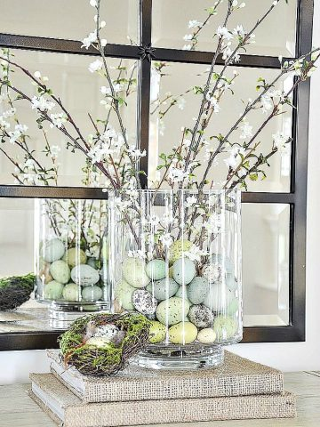EASY AND PRETTY EASTER ARRANGEMENT