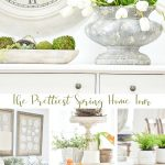 COLLAGE OF SPRING DECORATING IDEAS