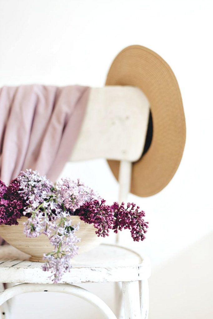 LILACS IN A CLEAN HOME
