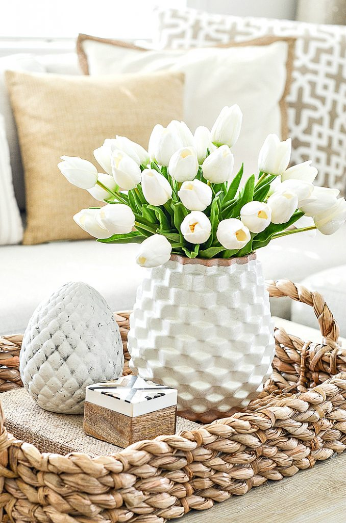SPRING DECORATING AFTER EASTER TULIPS