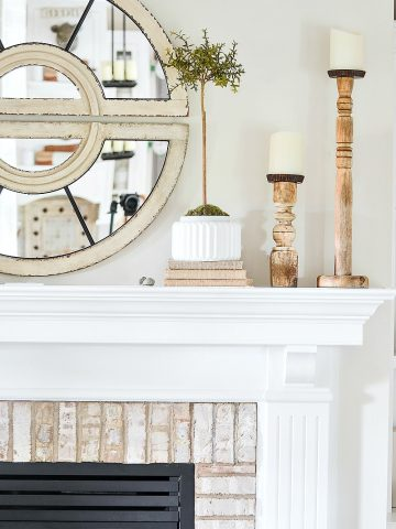 HOW TO STYLE A MANTEL LIKE A PRO!