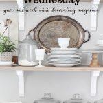 white pantry on easy elegance wednesday