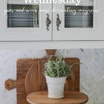 pretty glass front cupboard on easy elegant wednesday
